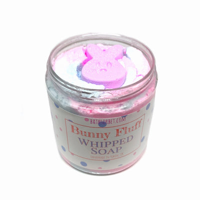 Bunny Fluff Whipped Soap
