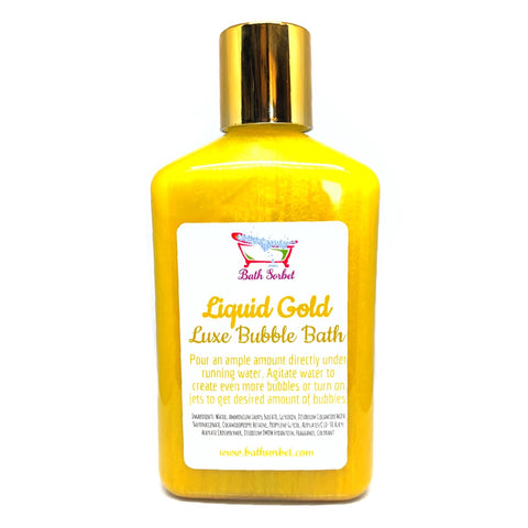 Liquid Gold Luxe Bubble Bath