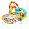 Image of 3 in 1 Baby Muziek Speelmat Multifunctioneel met Piano