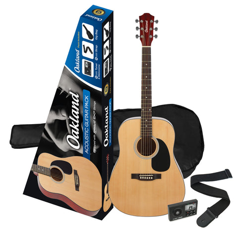 Oakland Acoustic Guitar Pack