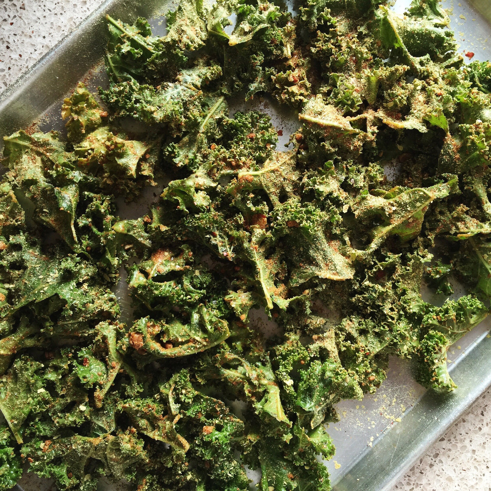 Sunflower & Curry Kale Chips