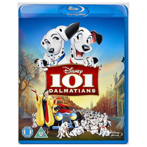 101 DALMATIANS blu-ray front cover