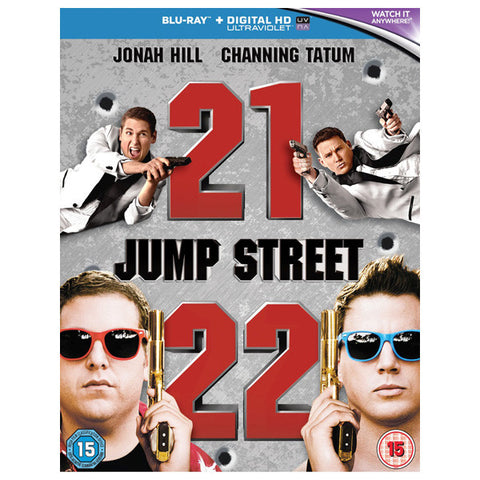 21 & 22 jump street front cover