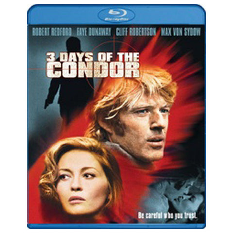 3 DAYS OF CONDOR blu-ray front cover