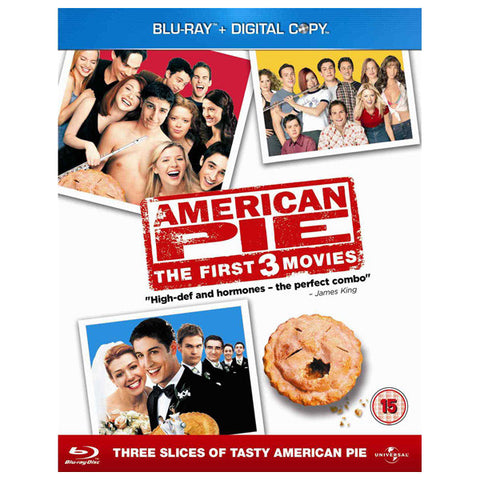 AMERICAN PIE TRILOGY blu-ray front cover