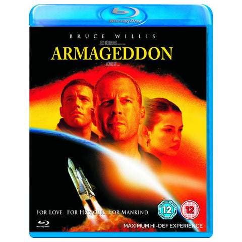 ARMAGEDDON blu-ray front cover
