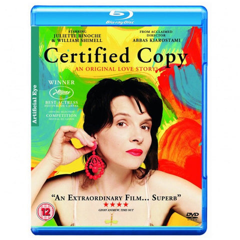 CERTIFIED COPY blu-ray front cover