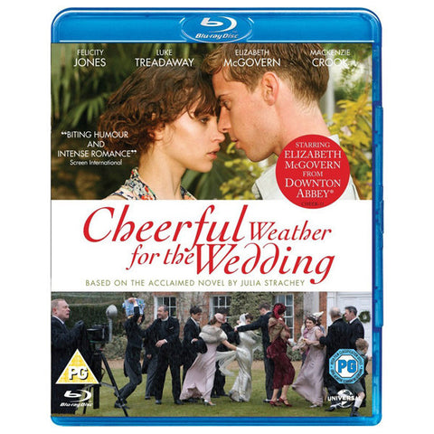 CHEERFUL WEATHER FOR THE WEDDING blu-ray front cover