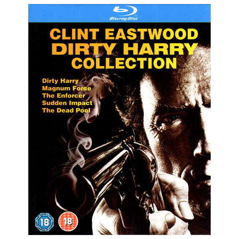 CLINT EASTWOOD DIRTY HARRY COLLECTION blu ray front cover