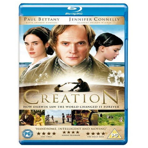 CREATION blu-ray front cover