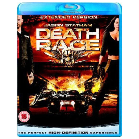 DEATH RACE blu-ray front cover