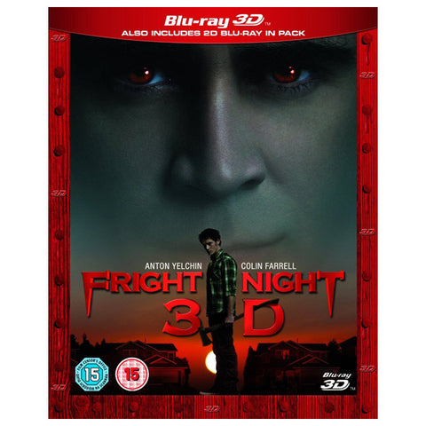 FRIGHT NIGHT 3D blu-ray front cover