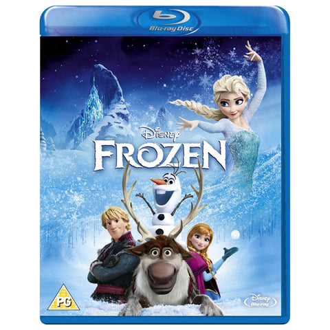 FROZEN blu ray front cover