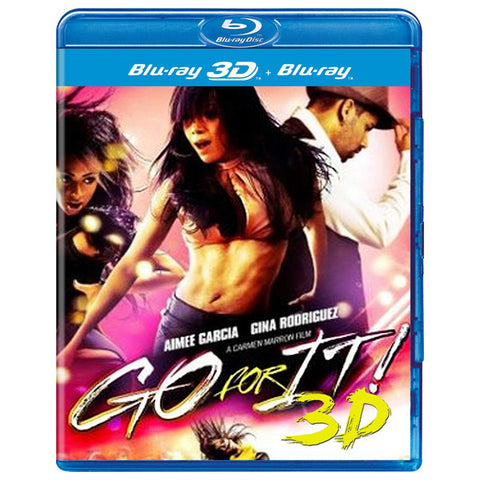GO FOR IT! 3D blu-ray front cover
