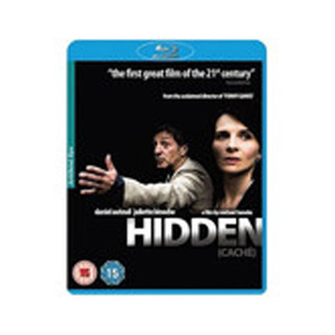 HIDDEN blu-ray front cover