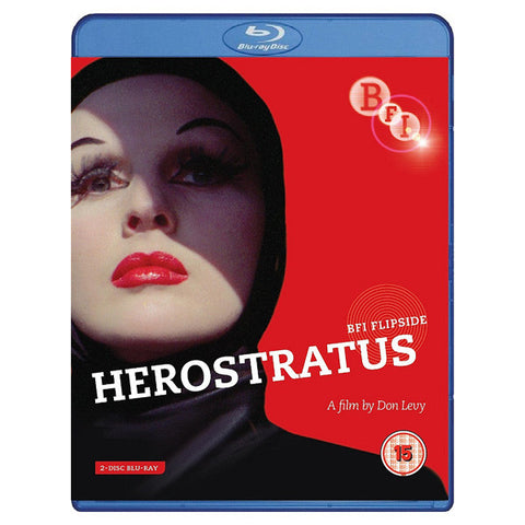 HEROSTRATUS blu-ray front cover