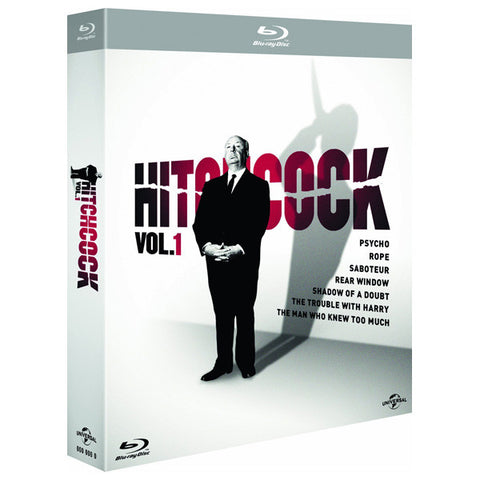 HITCHCOCK VOLUME 1 blu-ray front cover