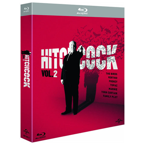 HITCHCOCK VOLUME 2 blu-ray front cover