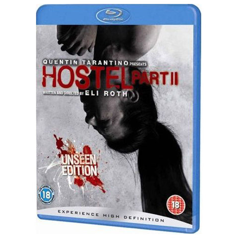 HOSTEL PART II blu-ray front cover