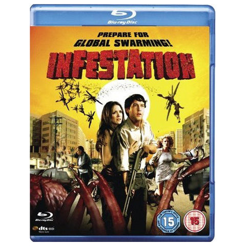 INFESTATION blu-ray front cover