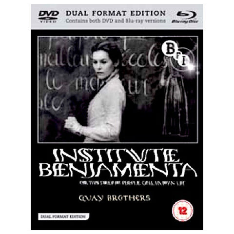 INSTITUTE BENJAMENTA OR THIS DREAM PEOPLE CALL HUMAN LIFE blu-ray front cover