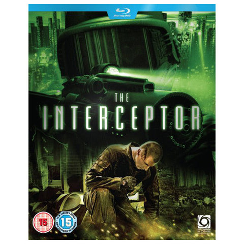 INTERCEPTOR blu-ray front cover