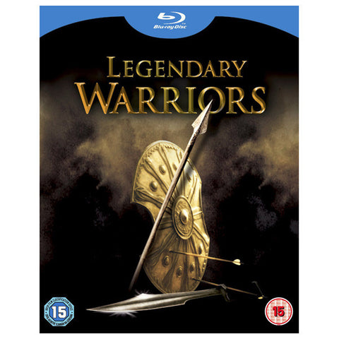 LEGENDARY WARRIORS BOX SET blu-ray front cover