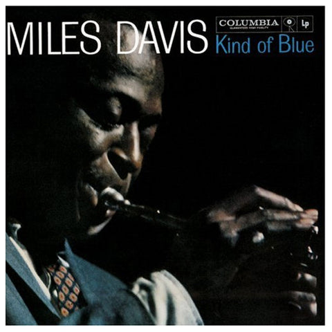 Miles Davis Kind of Blue blu-ray front cover