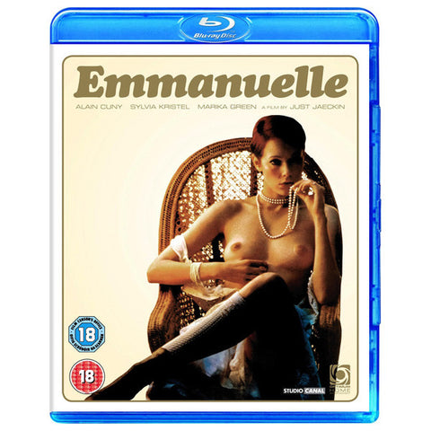 EMMANUELLA blu-ray front cover