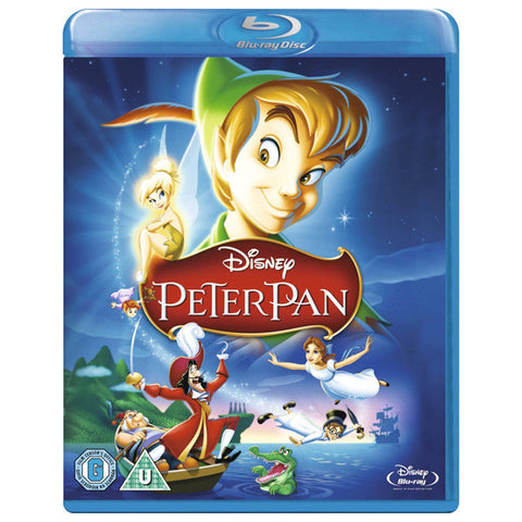 PETER PAN blu-ray front cover