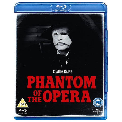 PHANTOM OF THE OPERA blu-ray front cover