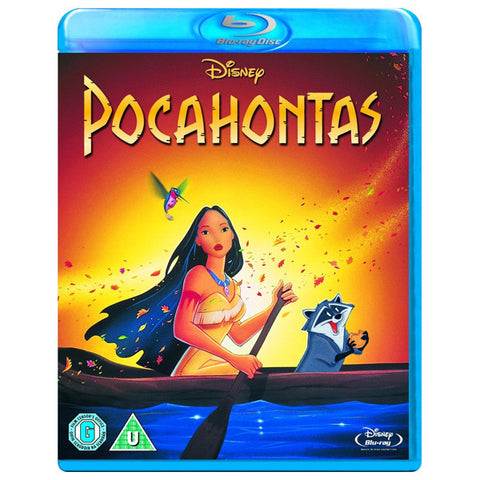 POCAHONTAS blu-ray front cover