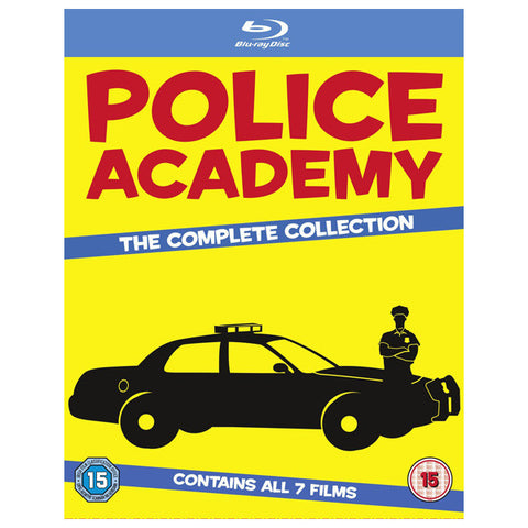 POLICE ACADEMY: THE COMPLETE COLLECTION blu-ray front cover