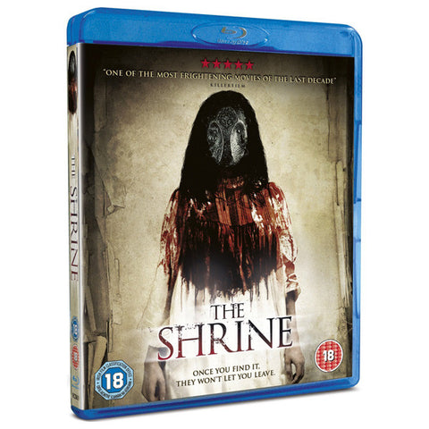 THE SHRINE blu-ray front cover