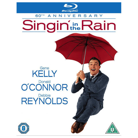 SINGIN' IN THE RAIN blu-ray front cover