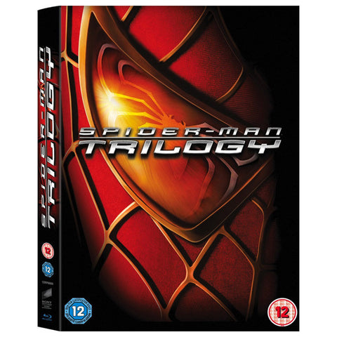 SPIDER-MAN TRILOGY blu-ray front cover