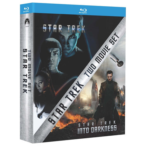 STAR TREK: TWO MOVIE SET blu-ray front cover
