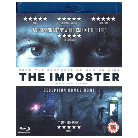 THE IMPOSTER blu-ray front cover