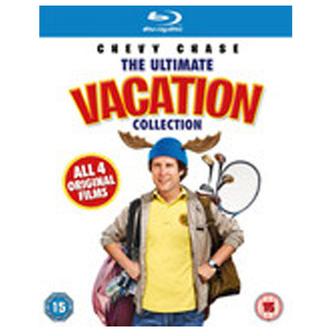 THE ULTIMATE VACATION blu-ray front cover