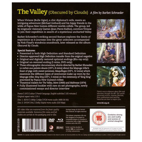 THE VALLEY blu-ray back cover
