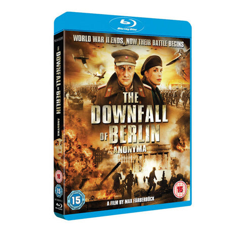 THE DOWNFALL OF BERLIN blu-ray front cover