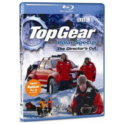 TOP GEAR - POLAR SPECIAL blu-ray front cover