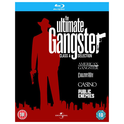 ULTIMATE GANGSTER COLLECTION blu-ray front cover