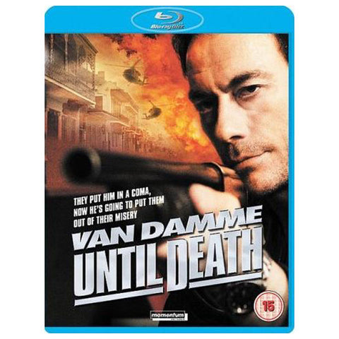 UNTIL DEATH blu-ray front cover