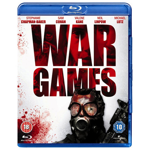 WAR GAMES: AT THE END OF THE DAY blu-ray front cover