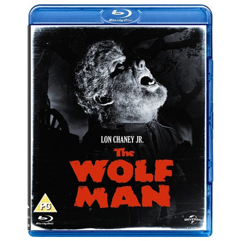 THE WOLF MAN blu-ray front cover