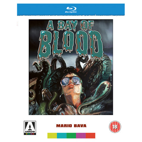 A BAY OF BLOOD blu-ray front cover