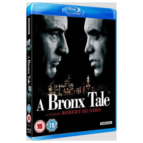 A BRONX TALE blu-ray front cover