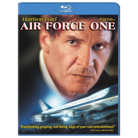 AIR FORCE ONE blu-ray front cover