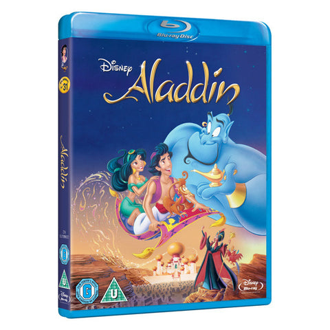 ALADDIN blu-ray front cover